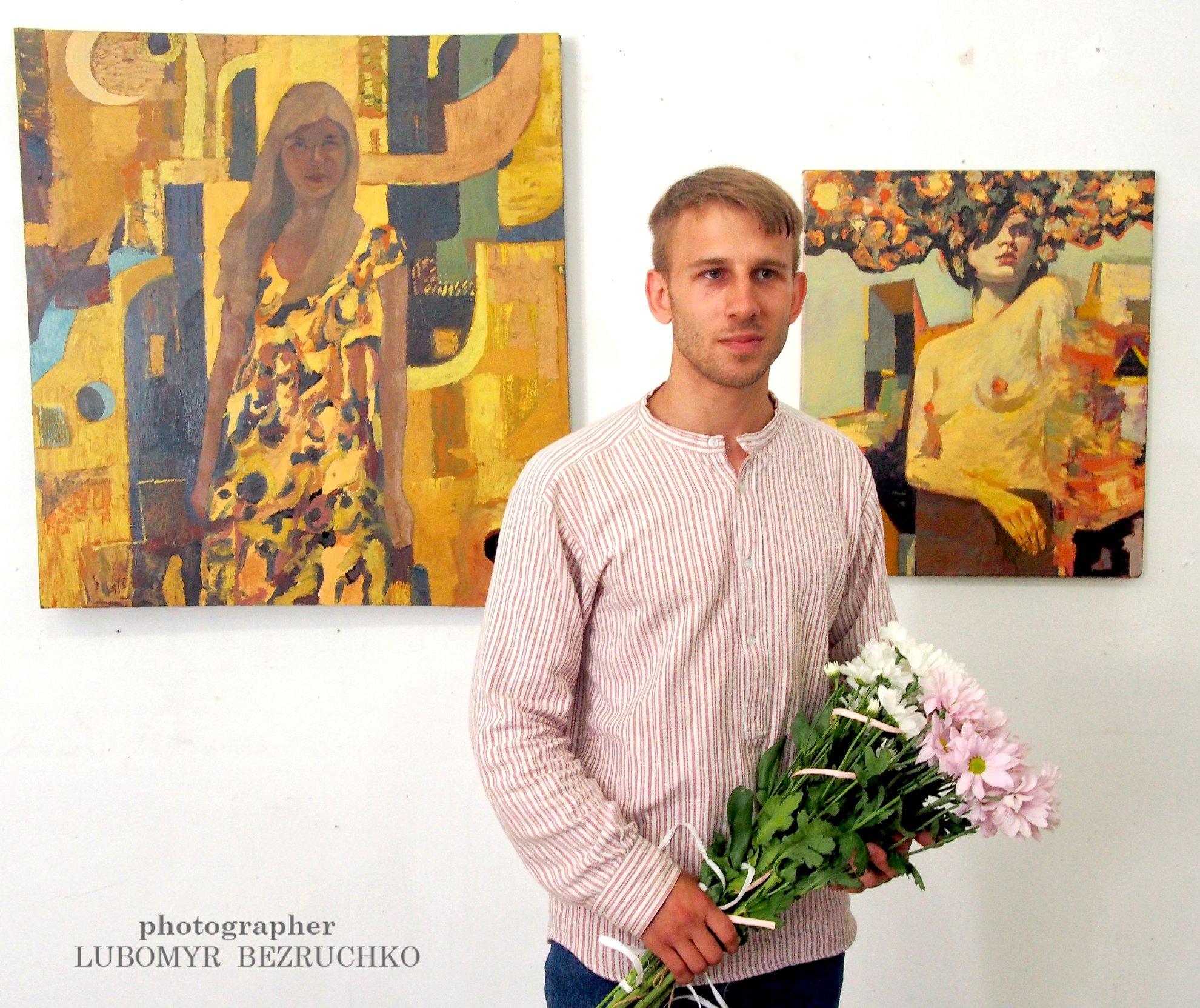 У Луцьку відкрили  виставку Артема Лук'янчука. ФОТО