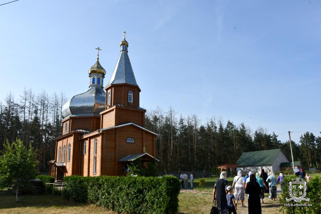 У волинському жіночому монастирі відзначили престольне свято. ФОТО