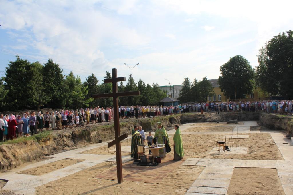 У Камені-Каширському  зведуть новий храм УПЦ МП