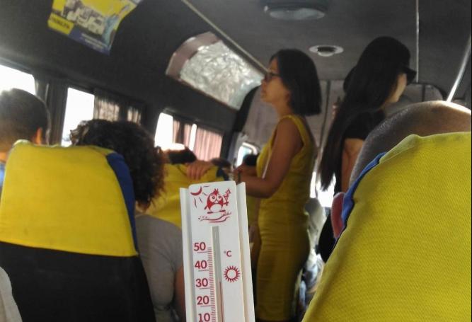 Шторку – у кожну маршрутку: у Луцьку просять врятувати людей від спеки