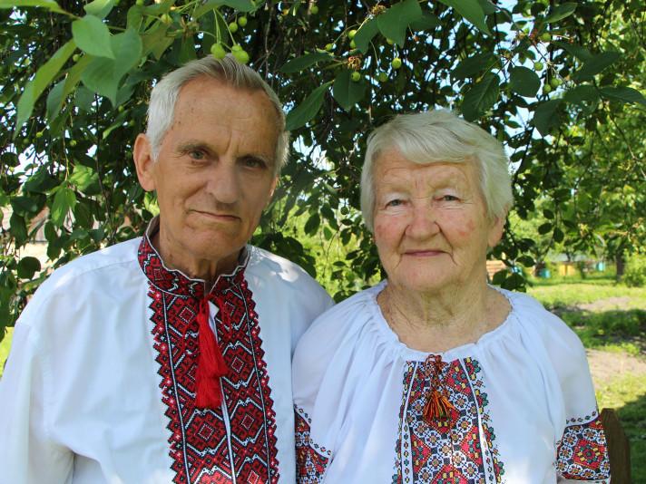 Подружжя з Волині відзначило 60-ту річницю весілля. ФОТО
