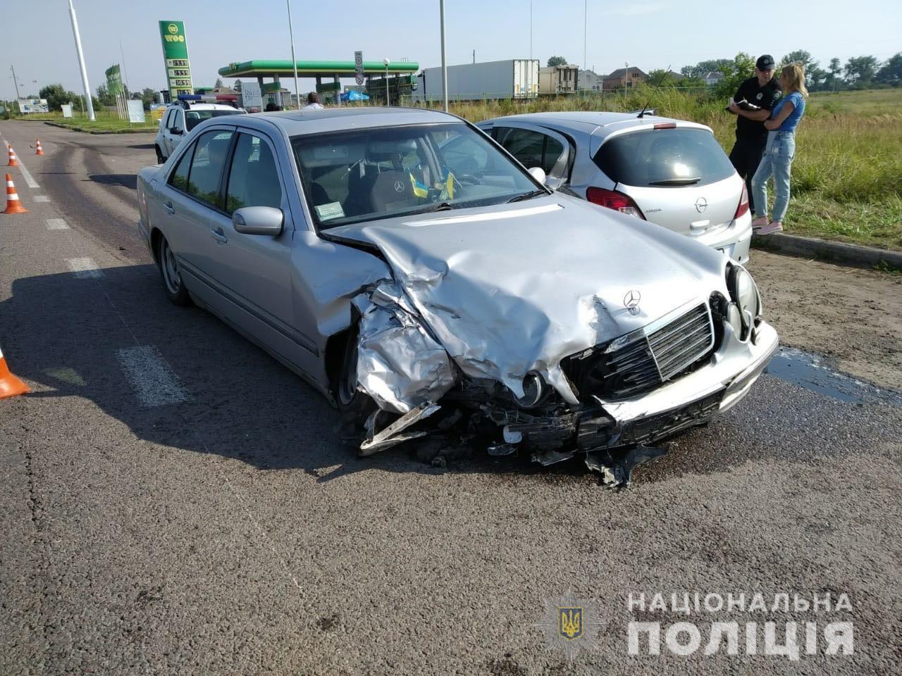 У ДТП на Львівщині постраждали 5 волинян, серед них – підліток. ФОТО
