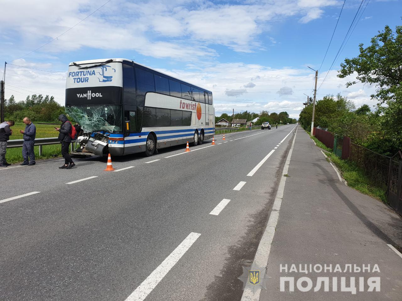 ДТП на Волині: автобус збив 54-річну жінку. Вона загинула на місці