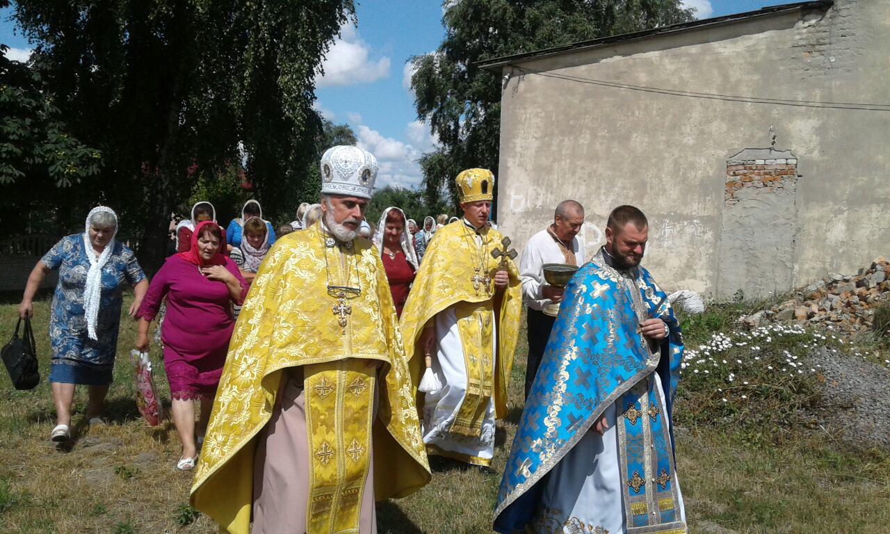 Як у селі на Волині відзначили храмове свято. ФОТО