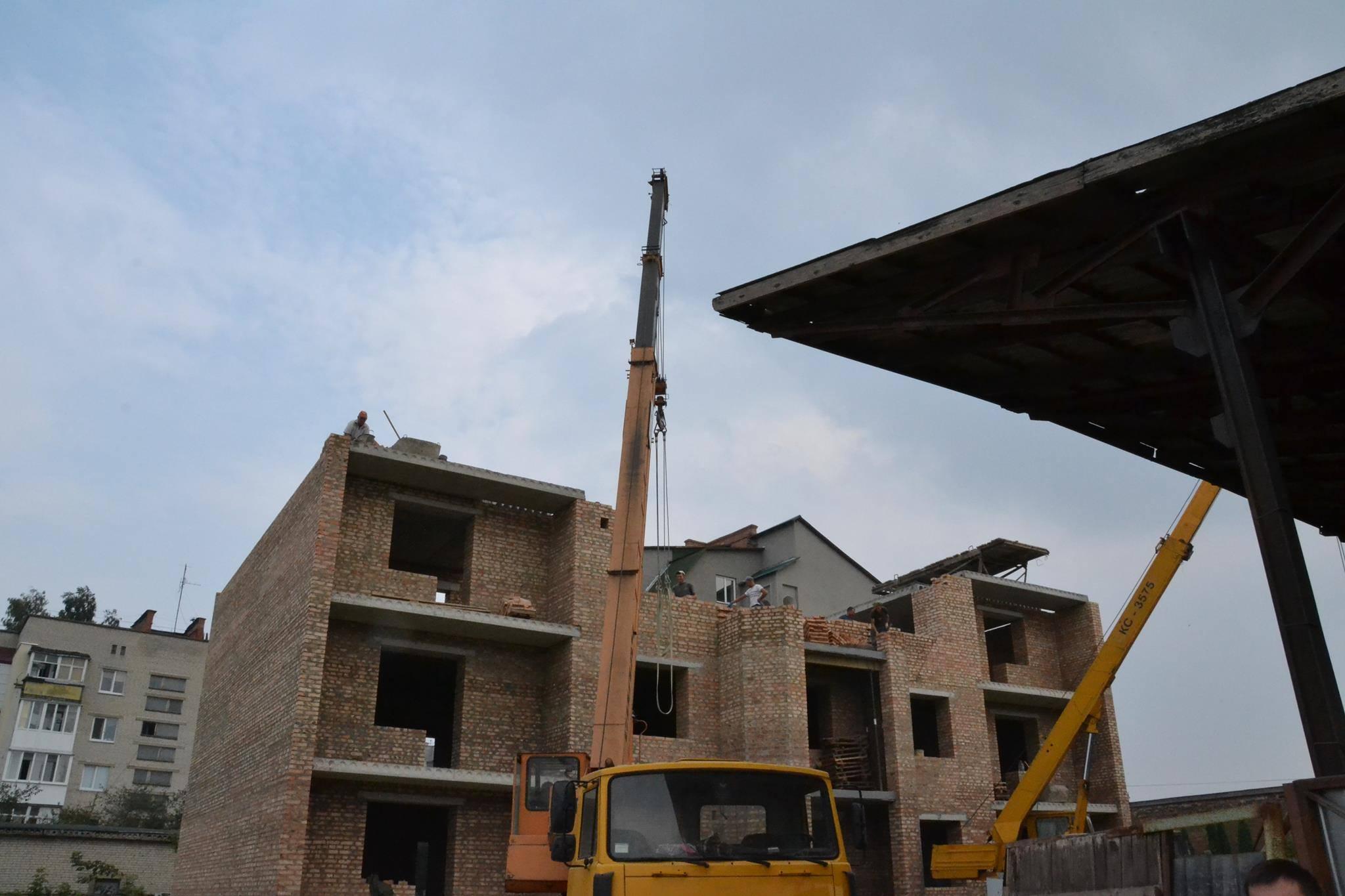 У Стобихівці на Волині розпочали будувати школу. На неї чекали понад 10 років