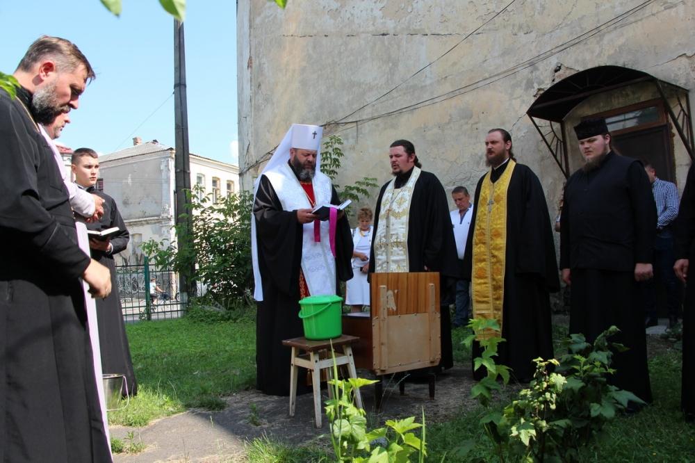 У Луцьку освятили монастир. ФОТО