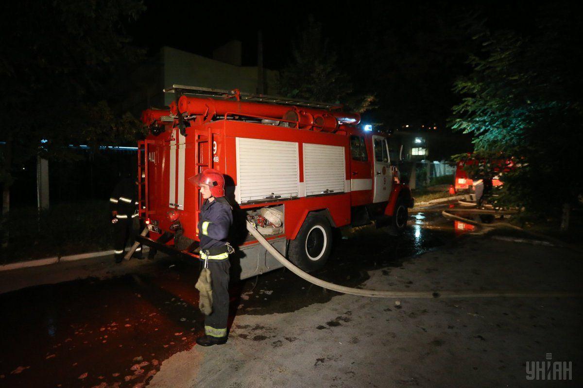 У селі на Волині  – пожежа через блискавку