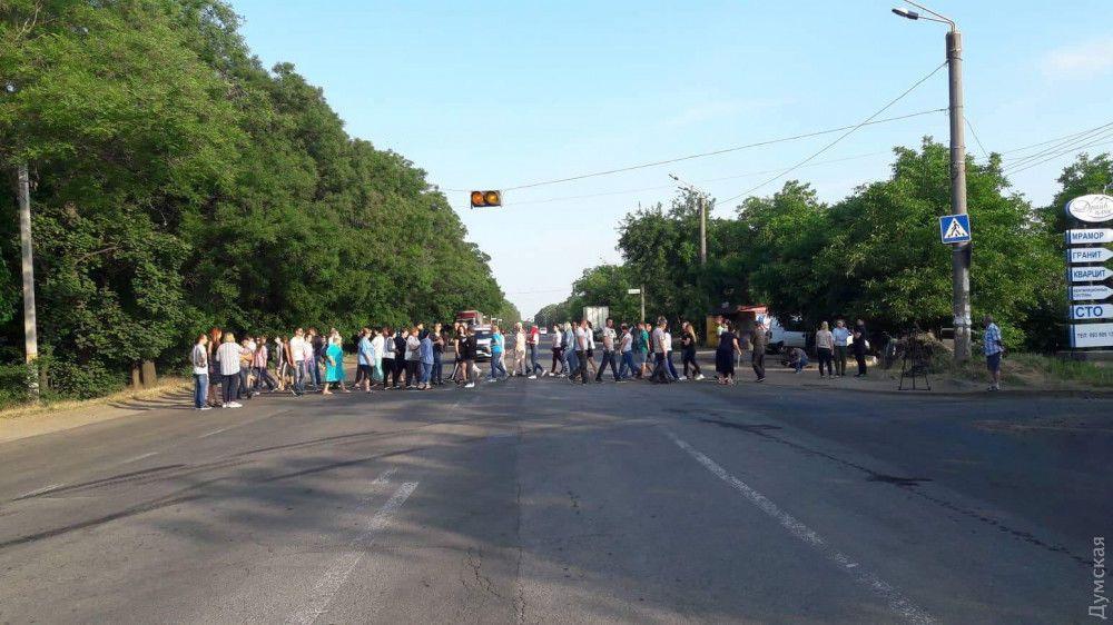 На Волині водії вантажівок заблокували  міжнародну трасу