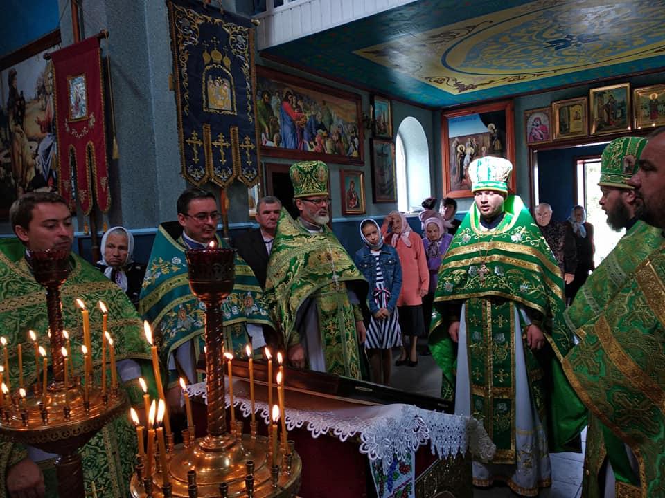 Як у селі на Волині відсвяткували річницю відкриття храму. ФОТО