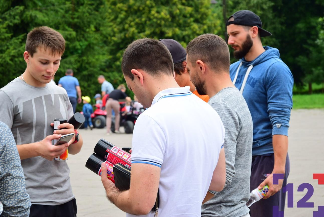 Безпечне місто: у Луцьку влаштували квест-акцію проти реклами наркотиків. ФОТО
