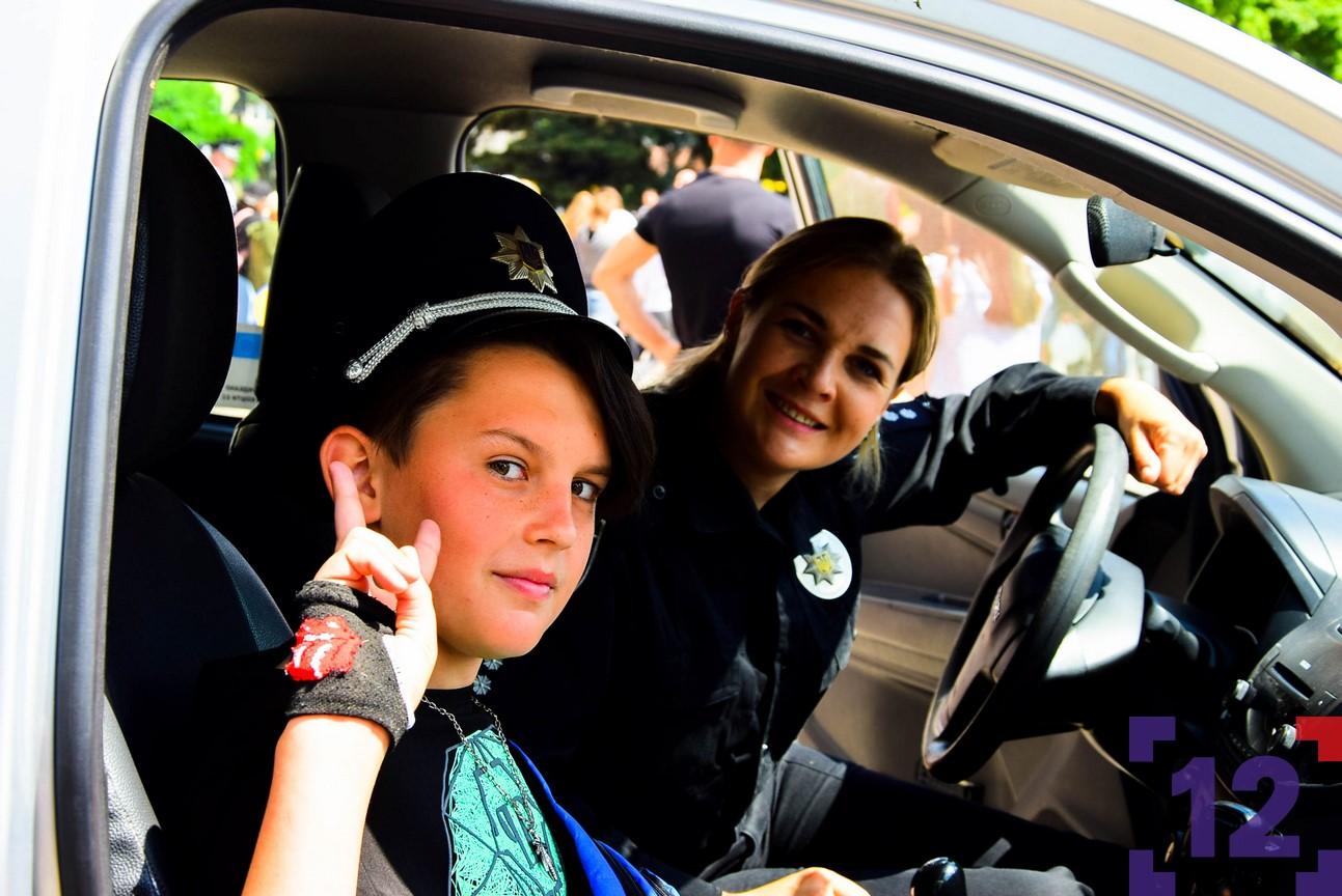 Як у Луцьку святкують День Національної поліції. ФОТОРЕПОРТАЖ