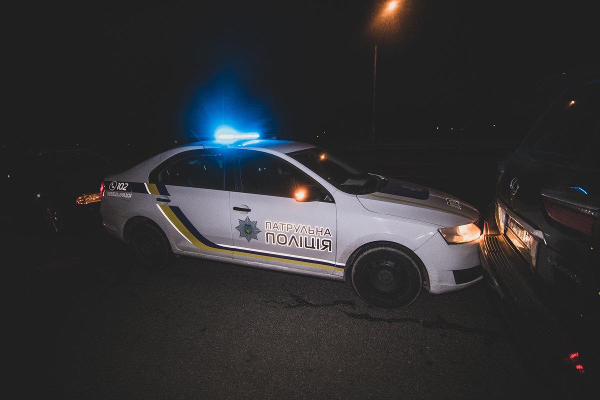 """Під Луцьком поліція піймала п'яного """"в дрова"""" водія. ФОТО"""