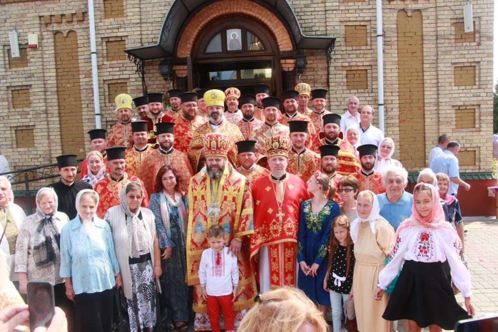 Як у селі під Луцьком відзначили престольне свято храму. ФОТО
