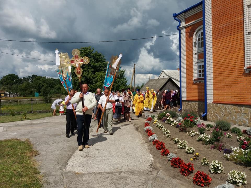 Як у селі на Волині відсвяткували престольне свято. ФОТО