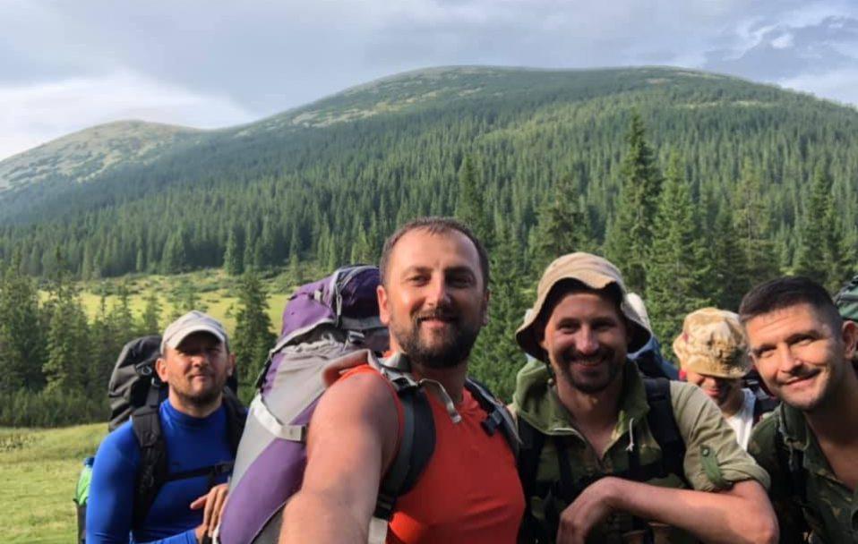 60 кілометрів за три дні: як Григоренко, Яковлев і Моклиця святкували День Незалежності. ФОТО