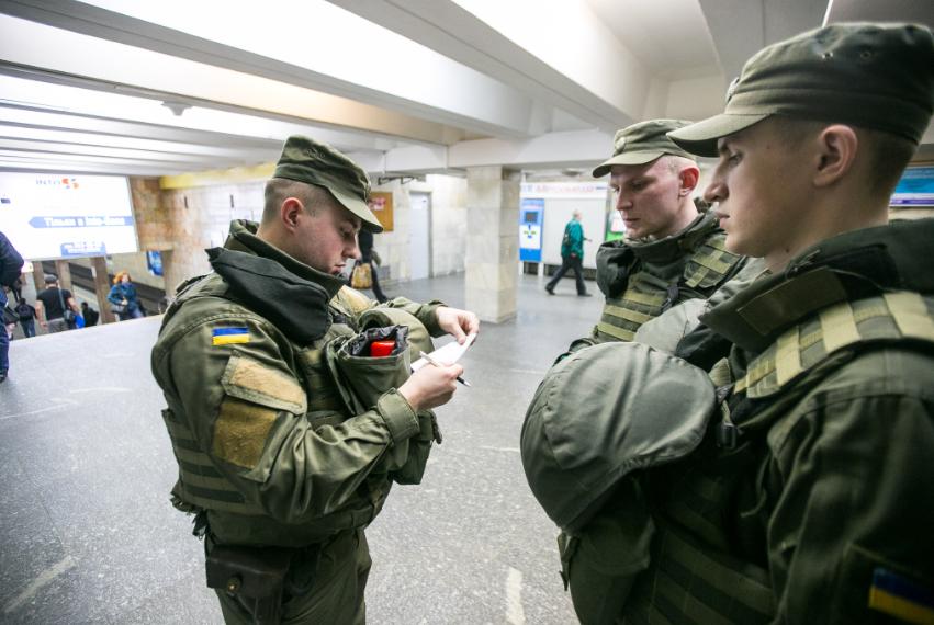 Вулицями Луцька ходитимуть патрулі Нацгвардії. Що перевірятимуть?