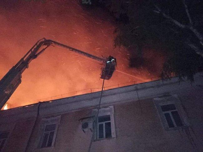 Назвали ймовірну причину пожежі у Луцькому військовому госпіталі