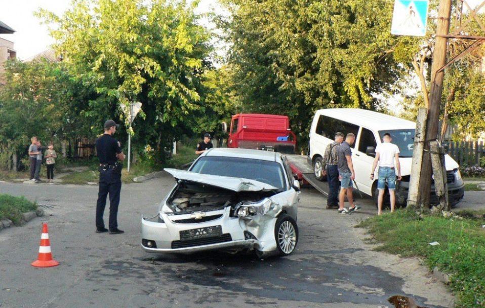 Автівка головного лікаря Ковельського МТМО потрапила у аварію. ФОТО