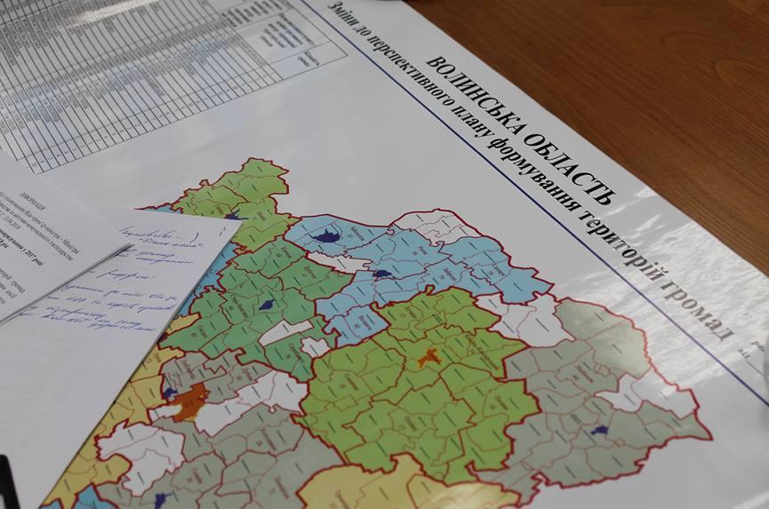 На Волині хочуть залишити лише  три райони. Опублікували карту поділу. ФОТО