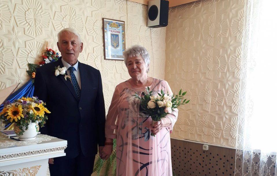 Подружжя з Каменя-Каширського відгуляло золоте весілля. ФОТО