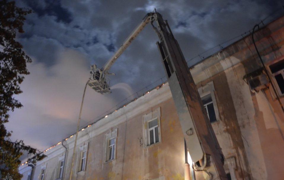 Наслідки пожежі в госпіталі: якої шкоди наробив вогонь