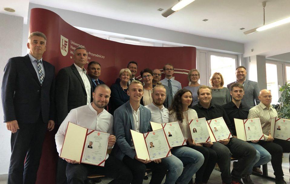 Луцькі студенти отримали дипломи в Польщі. ФОТО. ВІДЕО