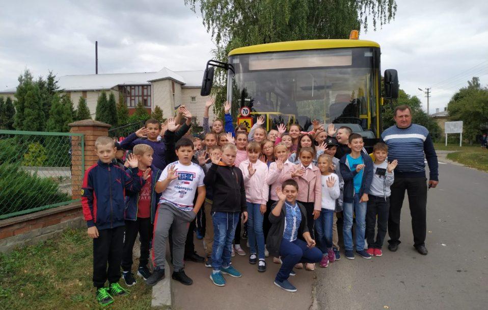 У селі під Луцьком купили новий шкільний автобус. ФОТО