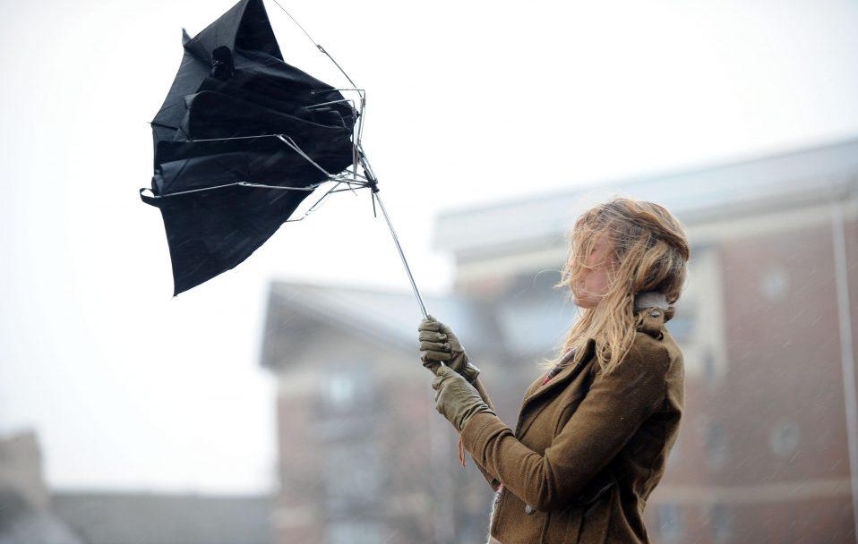 У Луцьку через сильний вітер люди сидять без світла