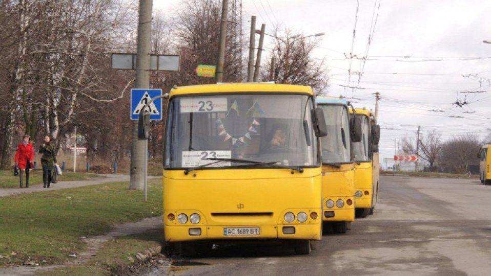 Луцька маршрутка №23 їздитиме по-новому. Шукають перевізника