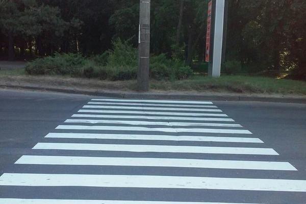 Лучани просять встановити відеокамеру через небезпечний пішохідний перехід
