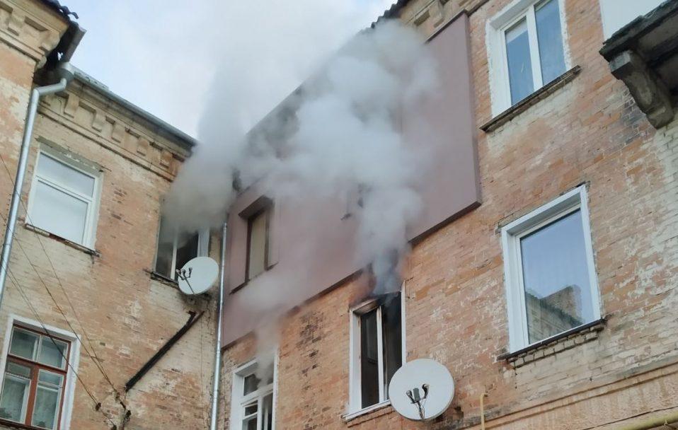На Волині загорілася трикімнатна квартира – врятували шестеро людей. ФОТО
