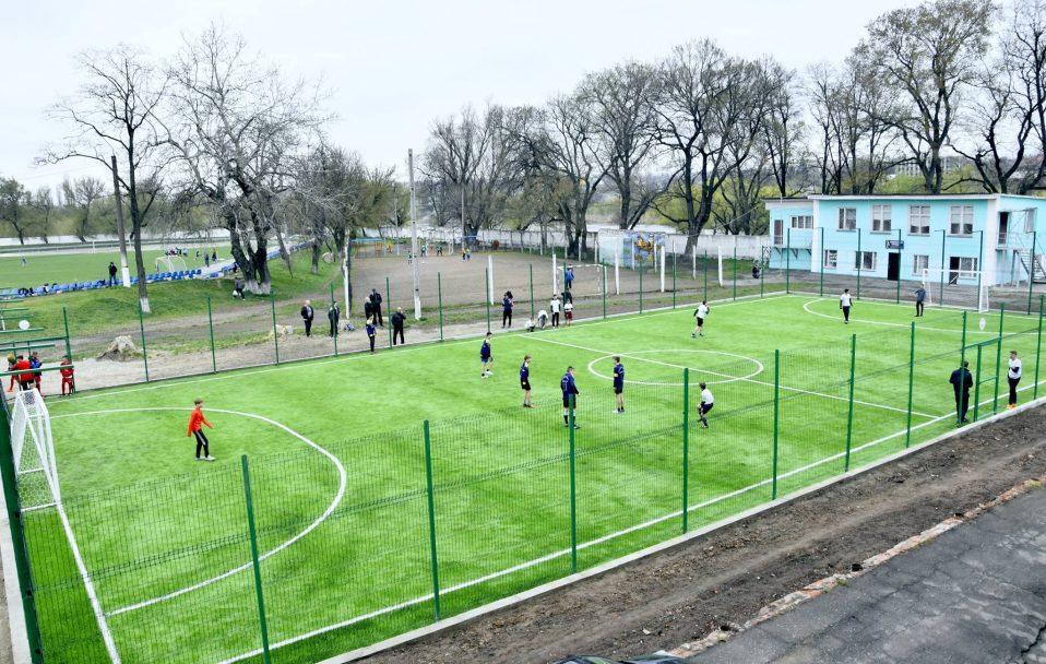 На Волині побудували 5 футбольних полів. Вартість кожного – 1 500 000 гривень