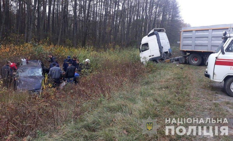 В аварії на Волині загинула 47-річна пасажирка. ФОТО