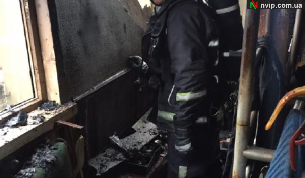 У Нововолинську сталася пожежа у багатоповерхівці. ФОТО