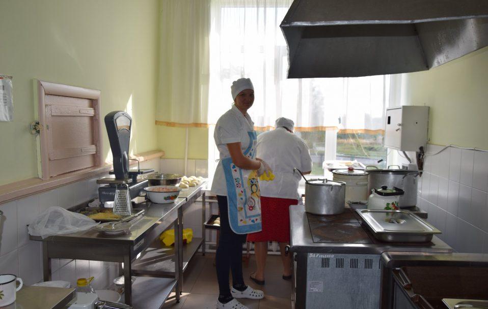 Бонус приєднання: школа села Прилуцьке отримала харчоблок. ФОТО