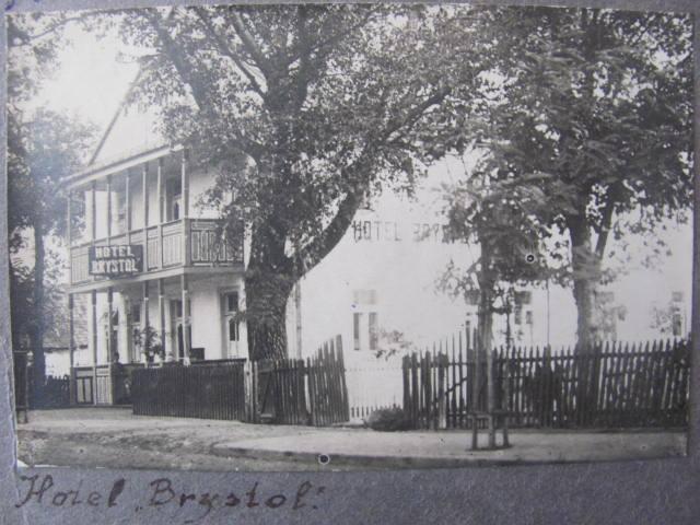 """Історичний погляд: на Волині була популярною назва """"Brystol"""" для готелів"""