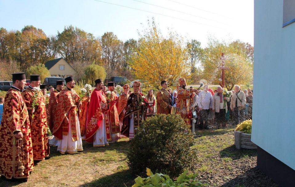 Митрополит Михаїл освятив недільну школу на Ковельщині. ФОТО