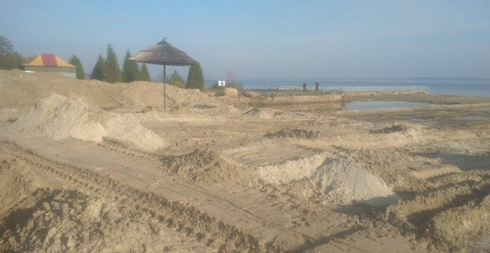 Пісок зі Світязя ніхто не крав, — директорка Шацького національного парку