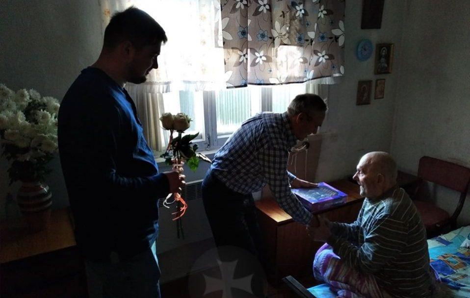 Волинянин відзначив 97-річчя. ФОТО
