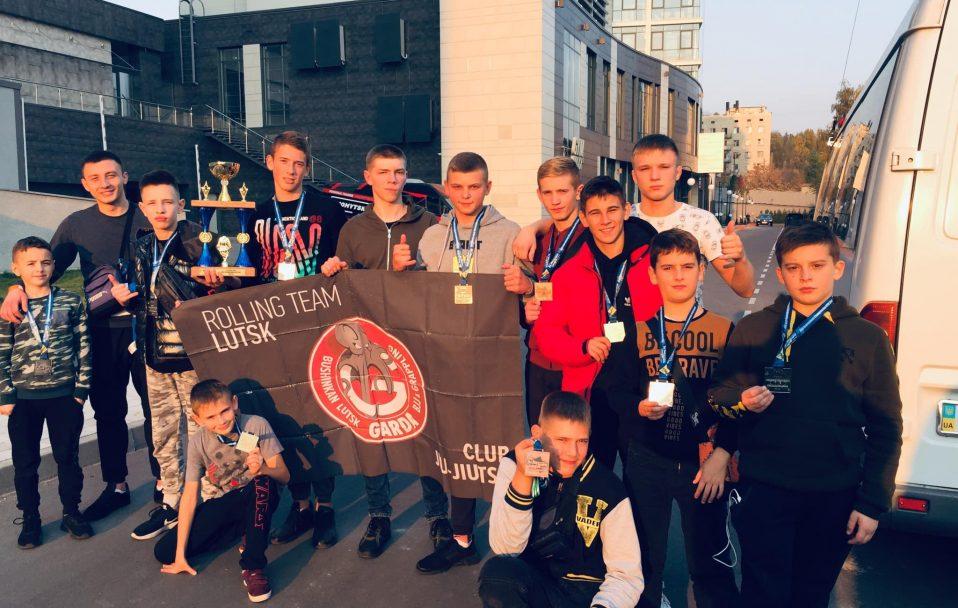 Луцькі бійці джиу-джитсу привезли перемоги з Києва