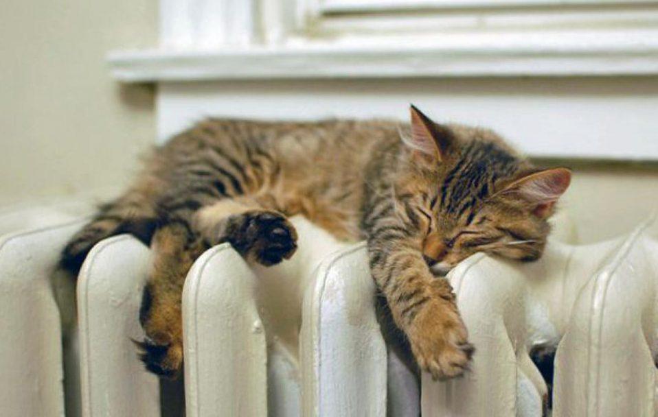 У домівки ковельчан дали тепло