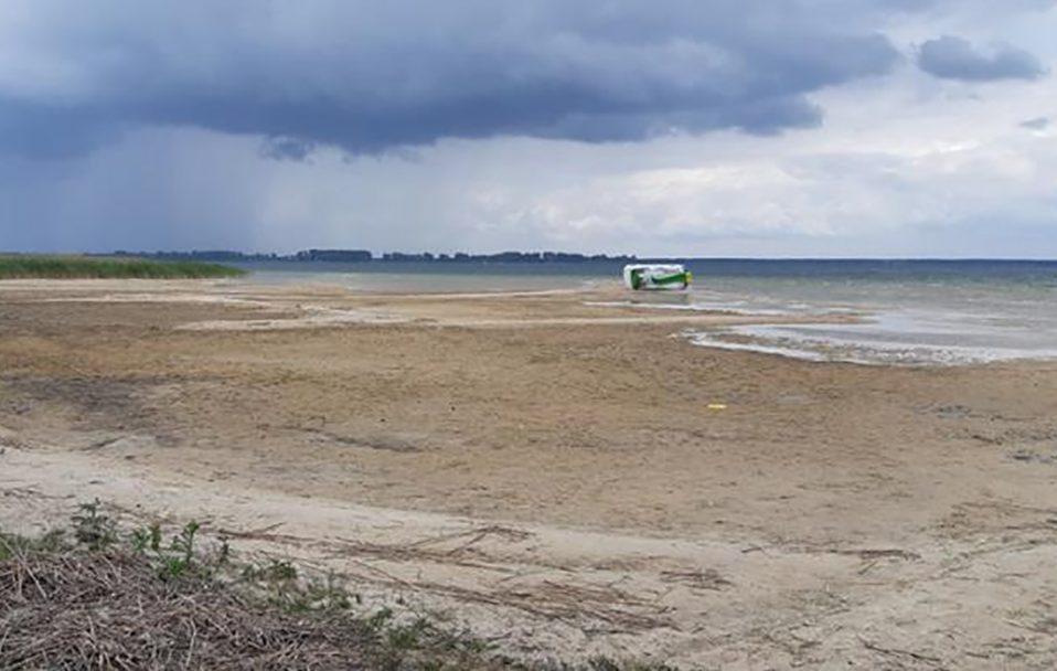 Як змінилося озеро Світязь за 4 місяці. ВІДЕО