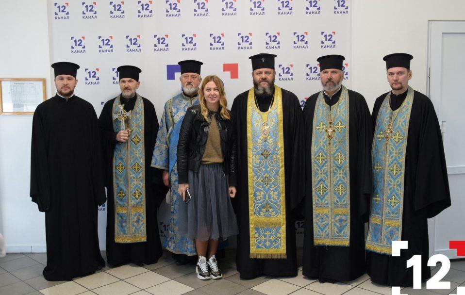 """""""Коли до добра кличе не лише церква, а й журналіст"""": Владика Михаїл освятив 12 канал. ФОТО"""