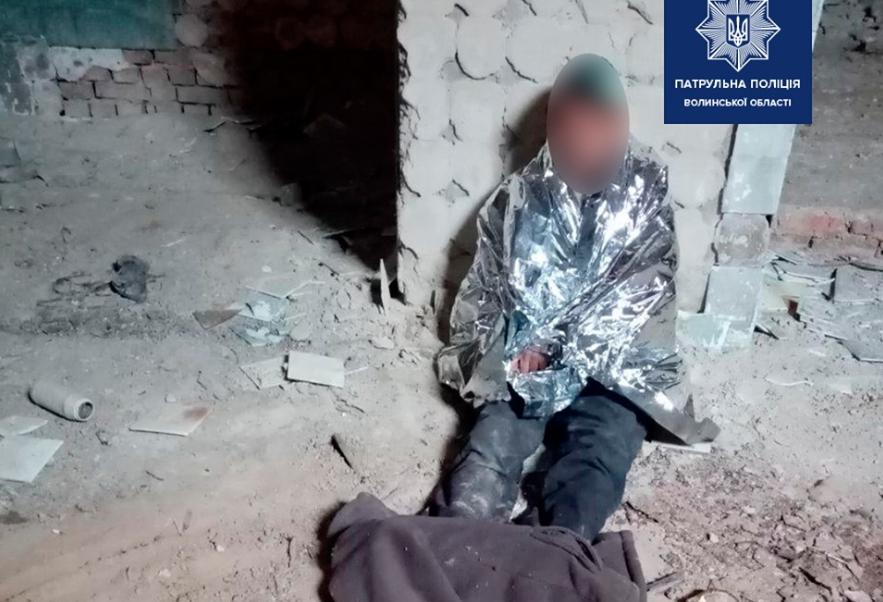 У Луцьку чоловік впав у підвал з висоти і травмувався. ФОТО