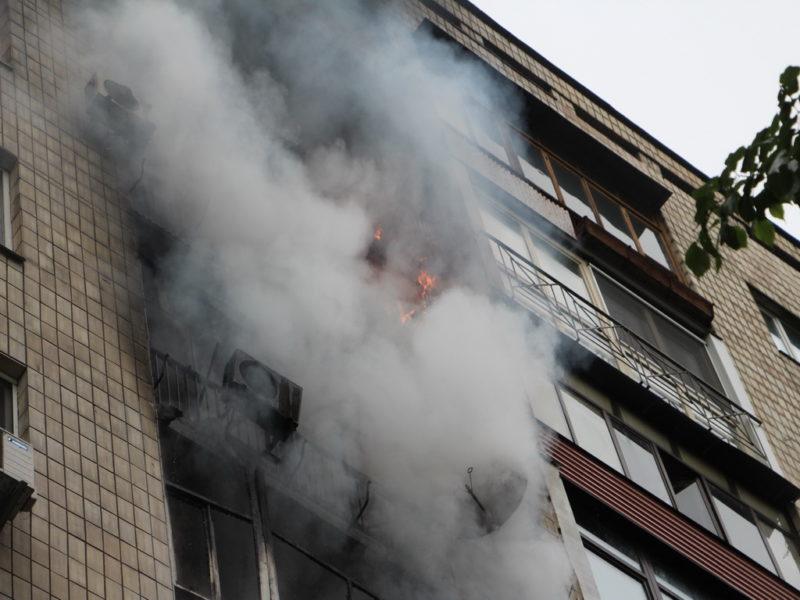 Під час пожежі в Луцьку загинув чоловік