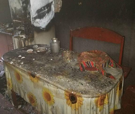 У селі на Волині горіла літня кухня. ФОТО