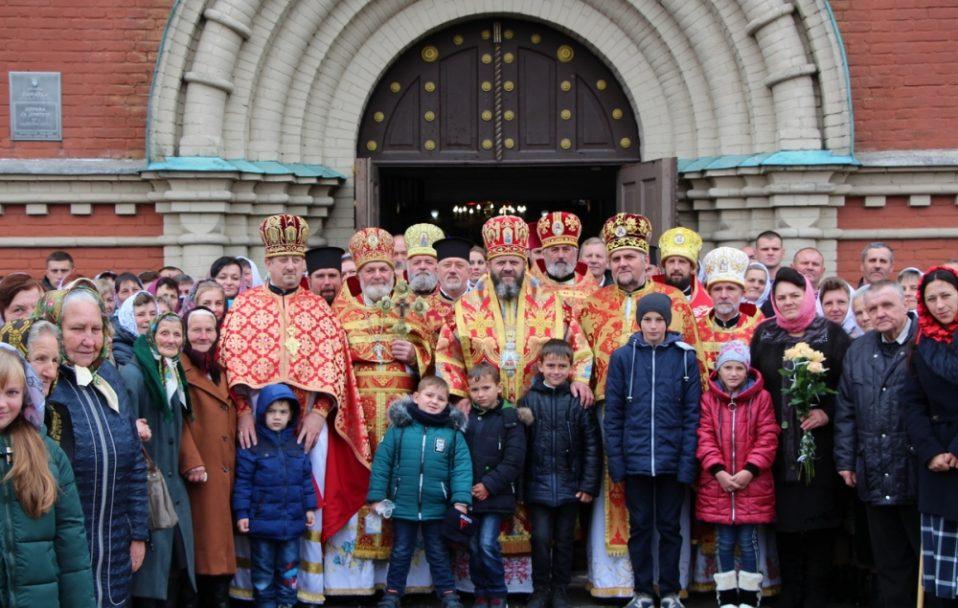 У селі на Горохівщині відзначили престольне свято. Службу очолив Михаїл. ФОТО