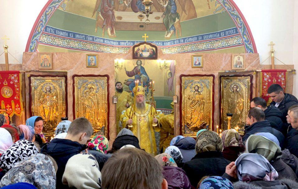 У селі на Волині освятили новий храм УПЦ (МП). ФОТО