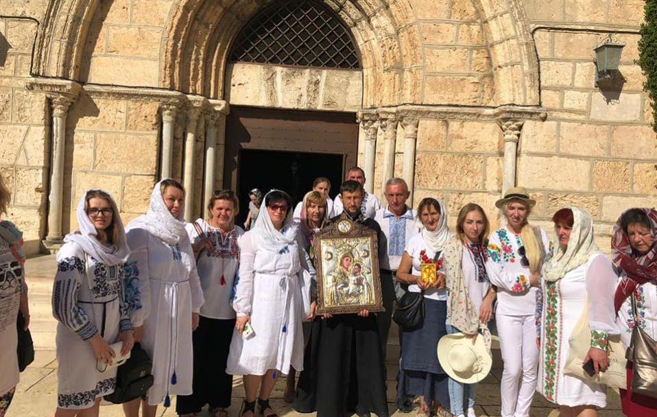 У Луцьк привезуть ікону, яка замироточила в Єрусалимі