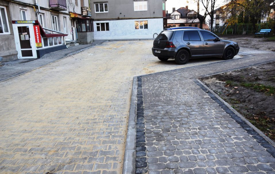 У Луцьку – капітальний ремонт у трьох дворах. ФОТО